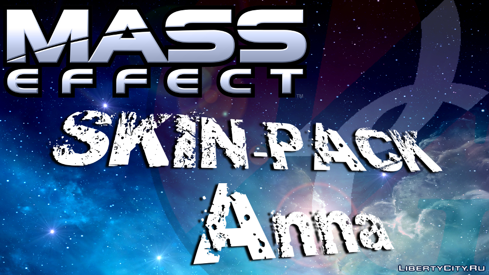 MASS EFFECT: Anna skin-pack gta 0