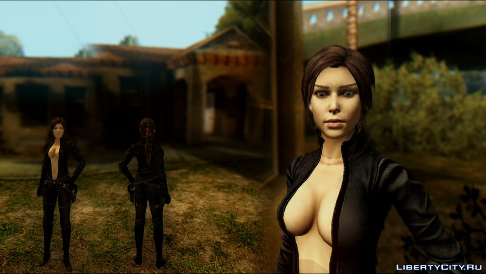 Lara Croft: Sexy Suit GTA SA 1