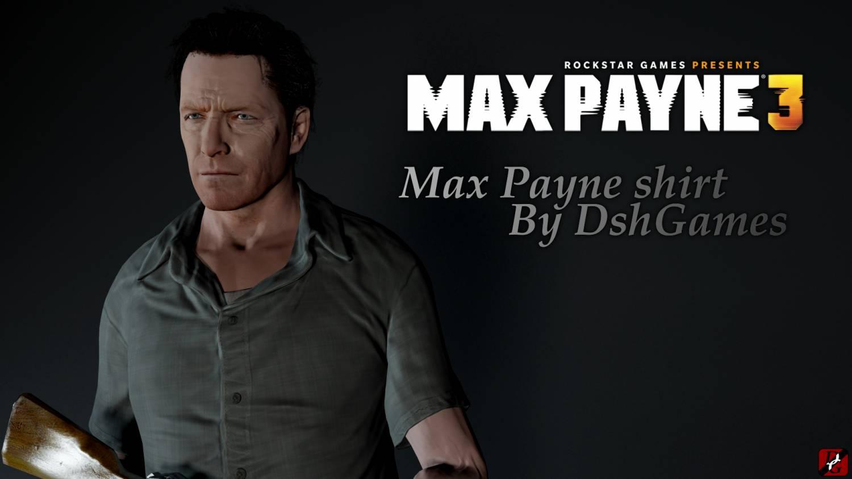 Max Payne shirt gta
