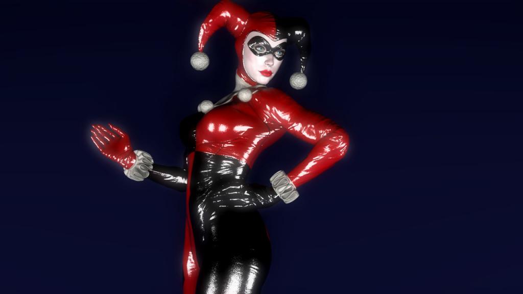 Harley Quinn Classic render