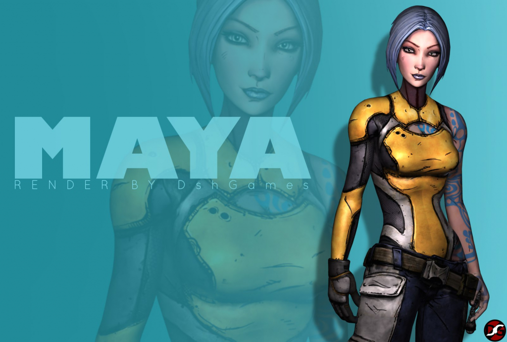 maya borderlands 2 render