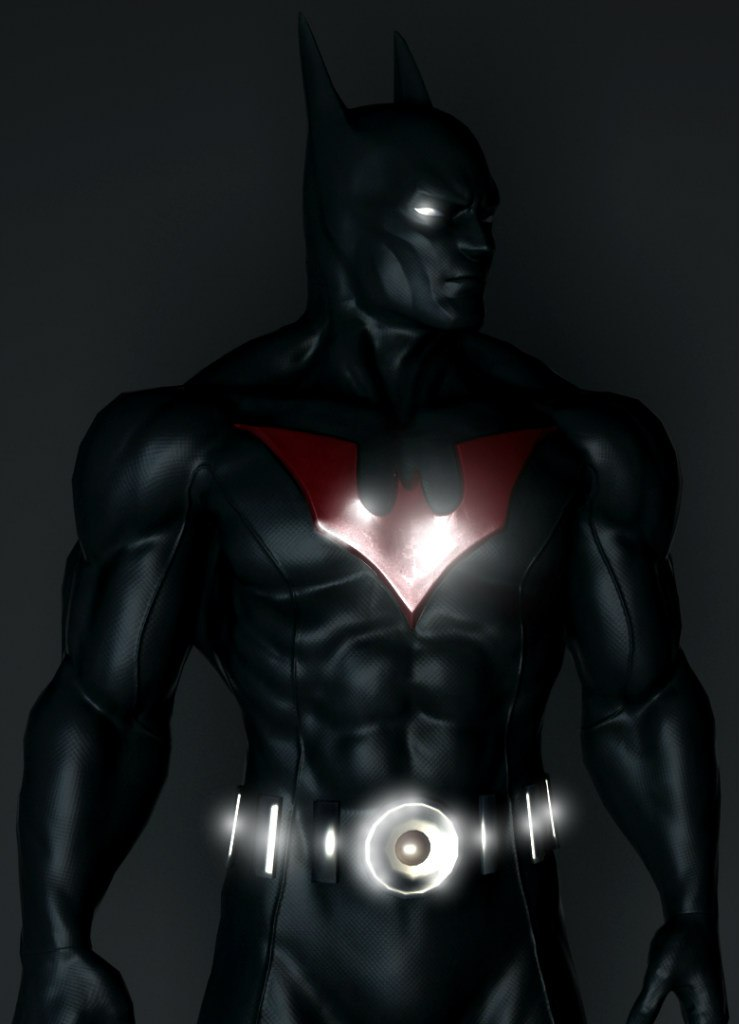 Batman Beyond render