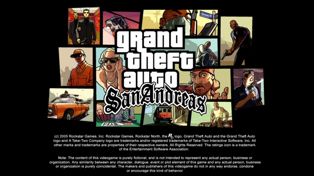 Ретекстур меню GTA:SA 2