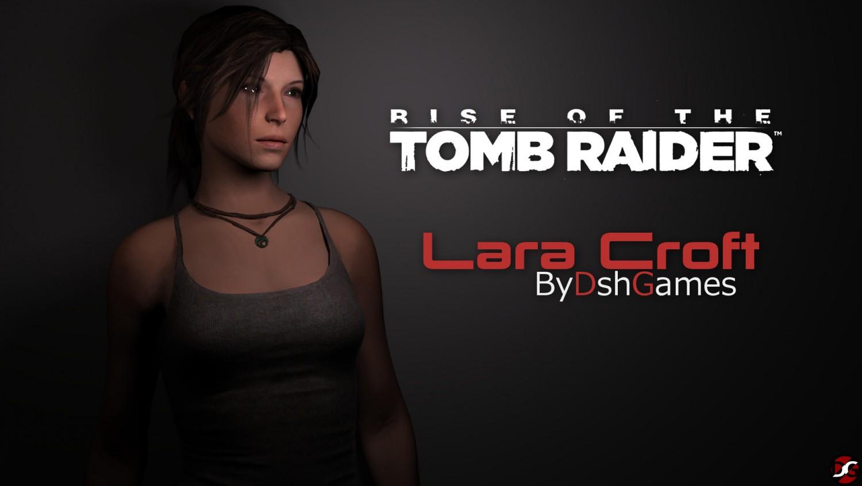 Lara Croft rottr gta