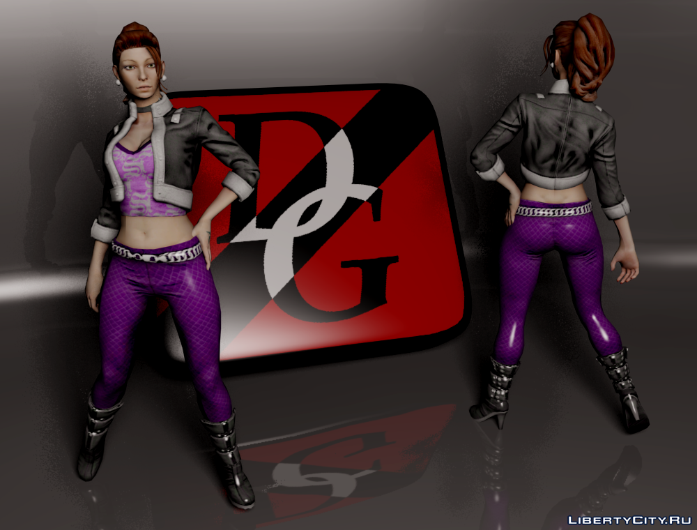 saints row Shaundi gta