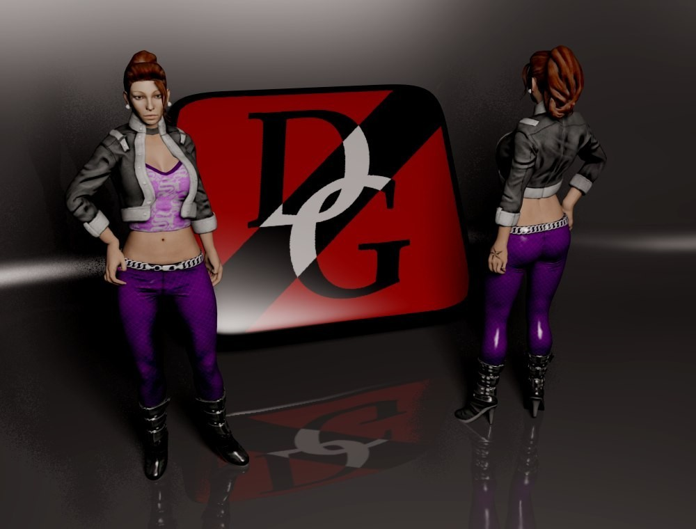 saints row New Shaundi gta
