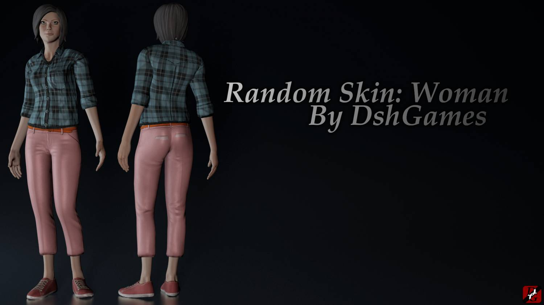 Random skin: Woman gta