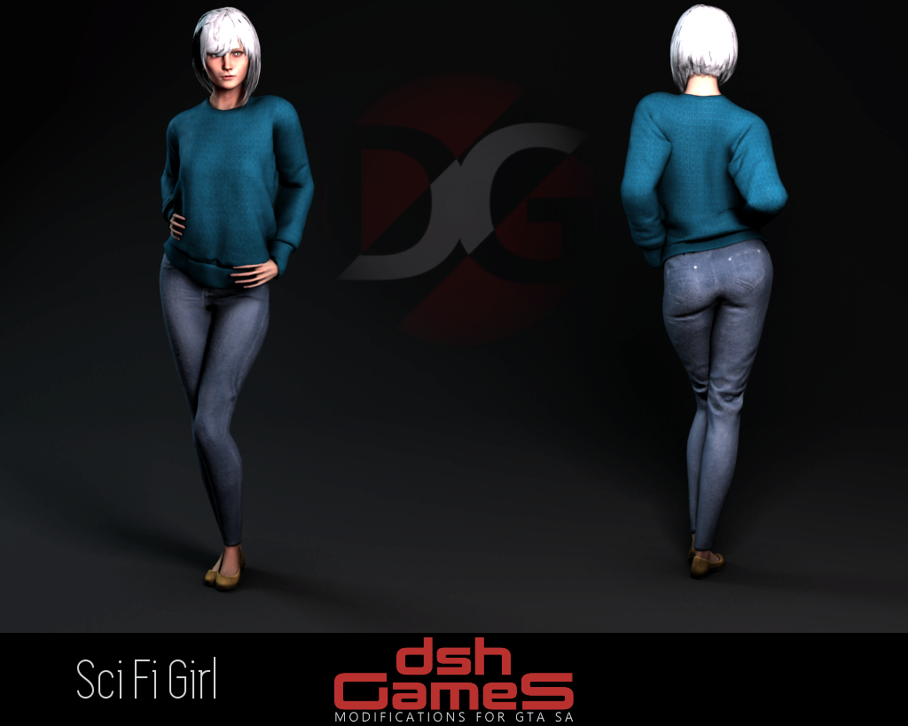 Sci Fi Girl gta