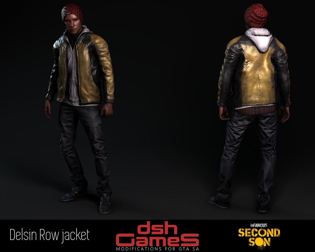 infamous Delsin Rowe jacket gta