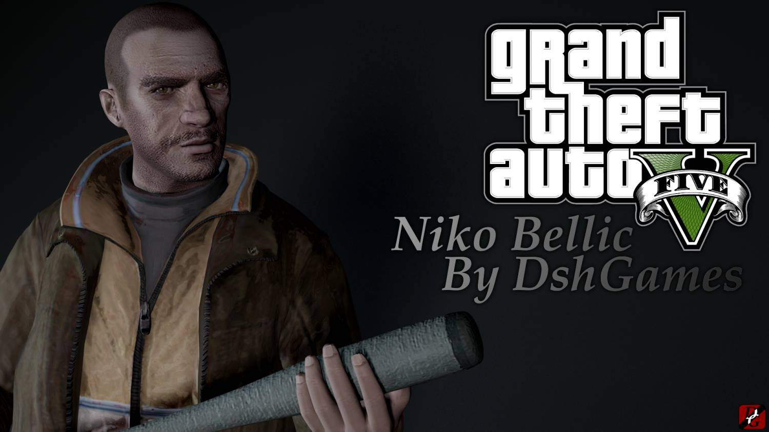 Niko Bellic from GTA V GTA SA