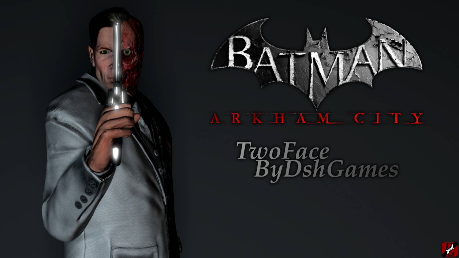 TwoFace batman gta
