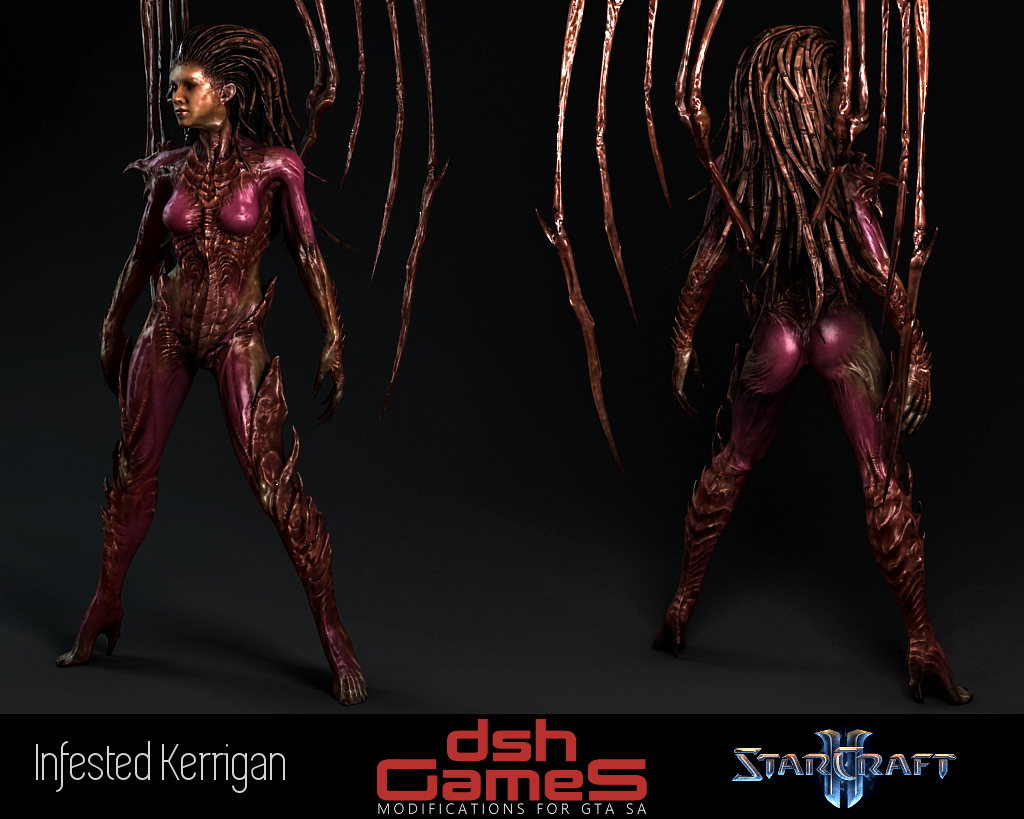 Infested Kerrigan gta