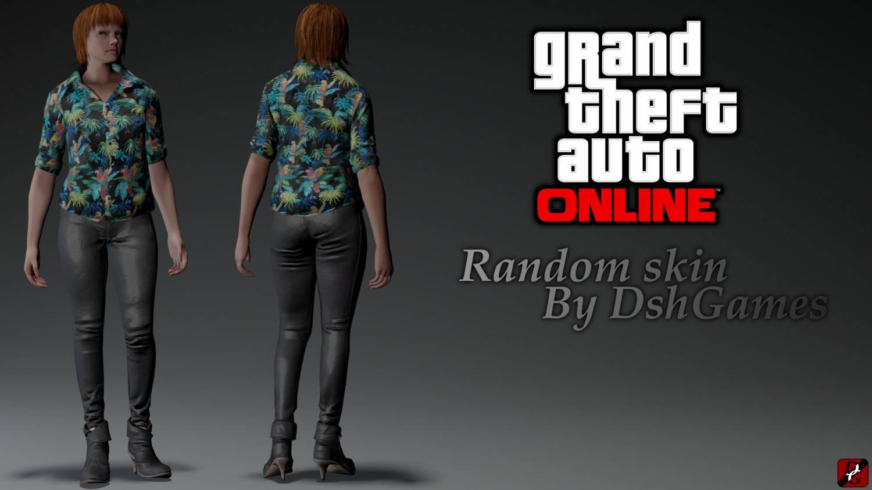 GTA Online: Random Skin
