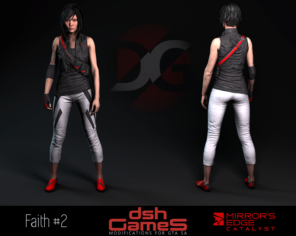 mirror's edge catalyst Faith gta