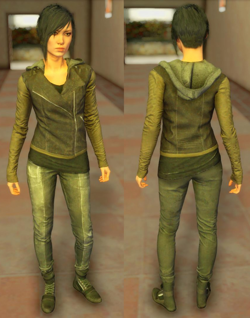 mirror's edge catalyst Faith jacket gta 1
