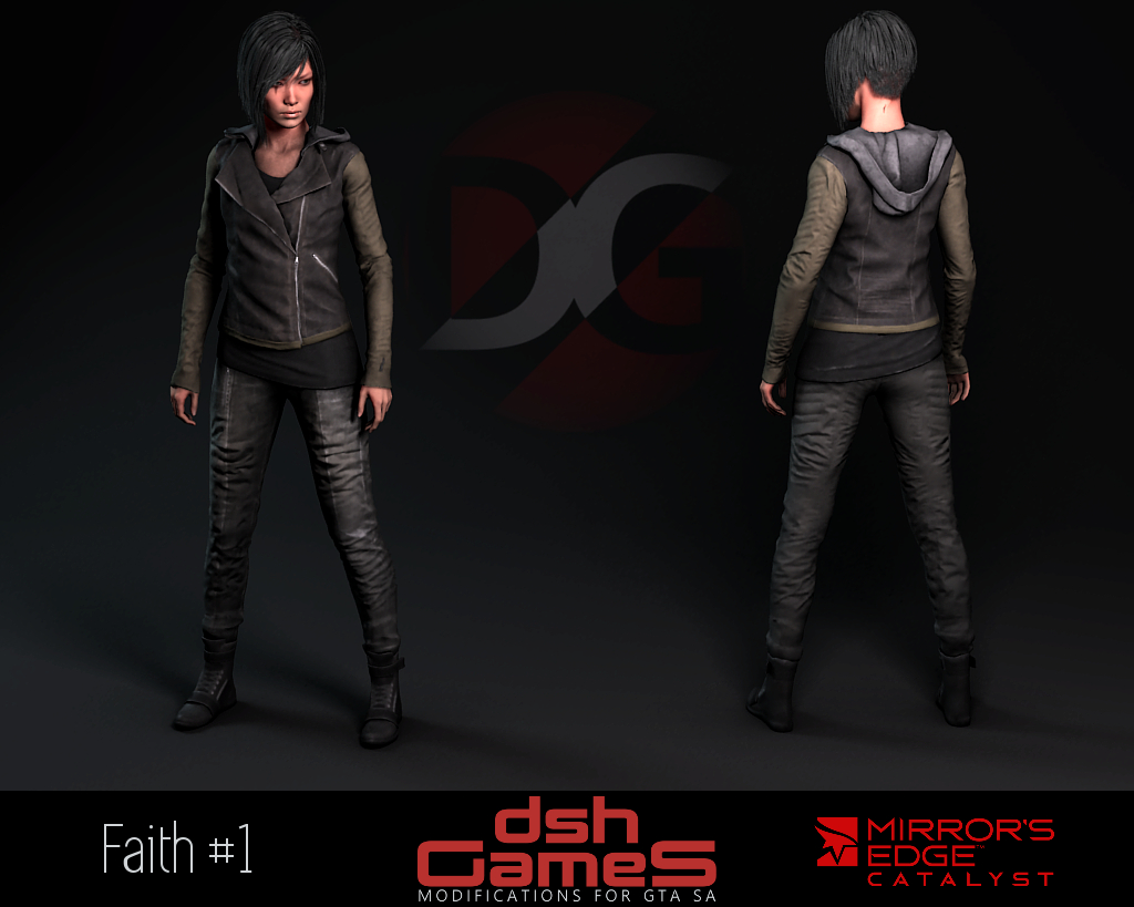 mirror's edge catalyst Faith jacket gta