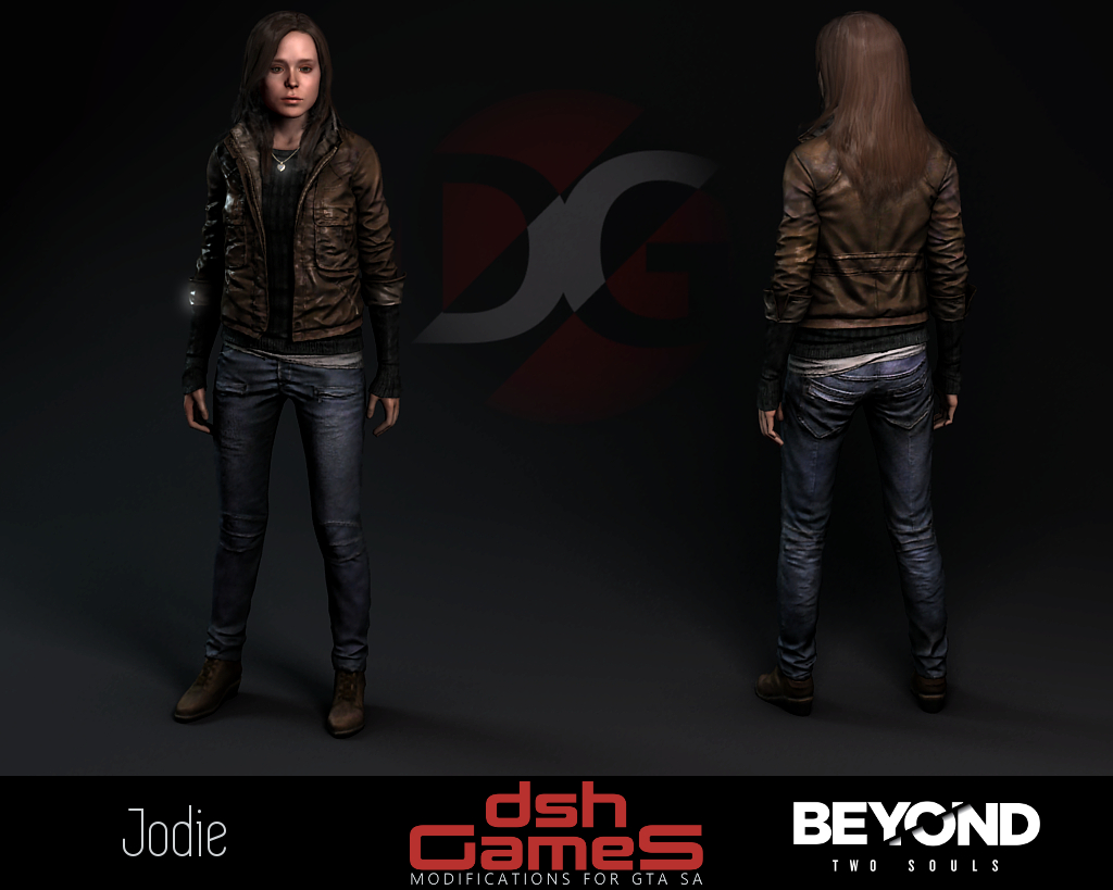 beyond two souls Jodie gta