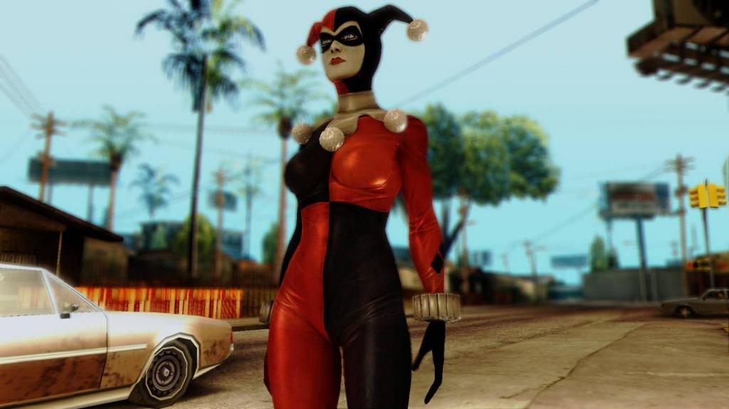 Harley Quinn Classic for GTA SA 2