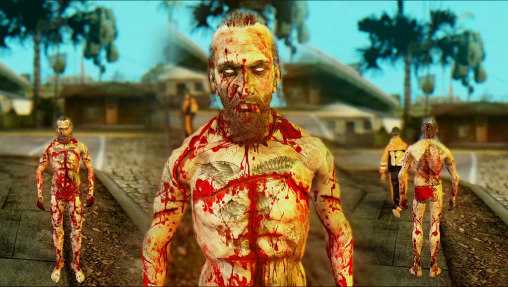 Outlast: skin-pack for GTA SA
