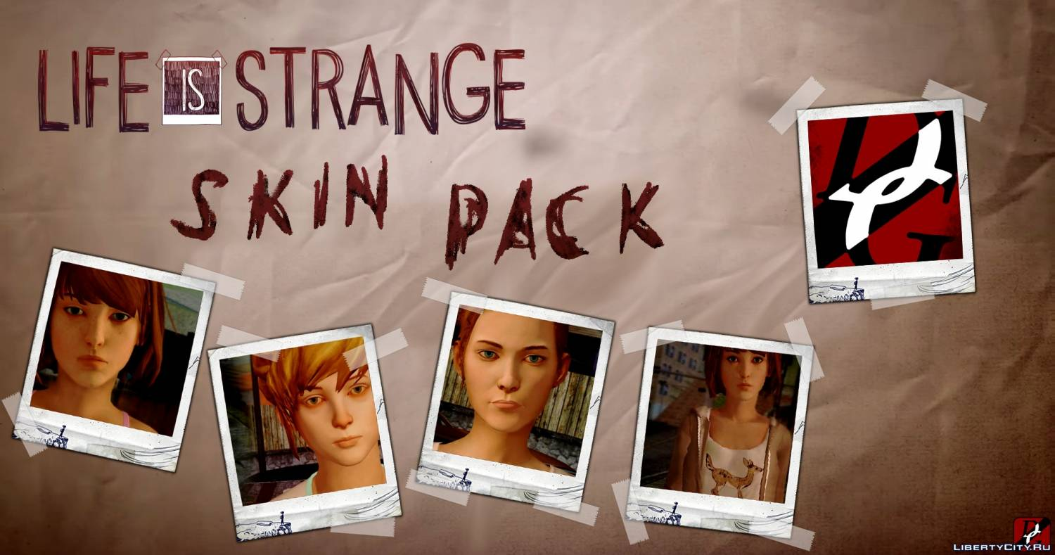 Life Is Strange: Skin-pack gta sa 0