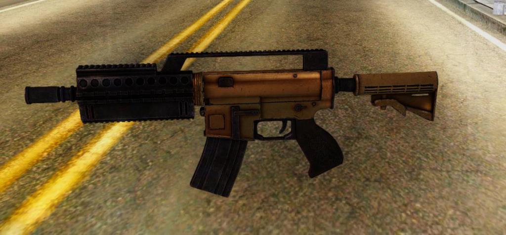 assault rifle gta 2