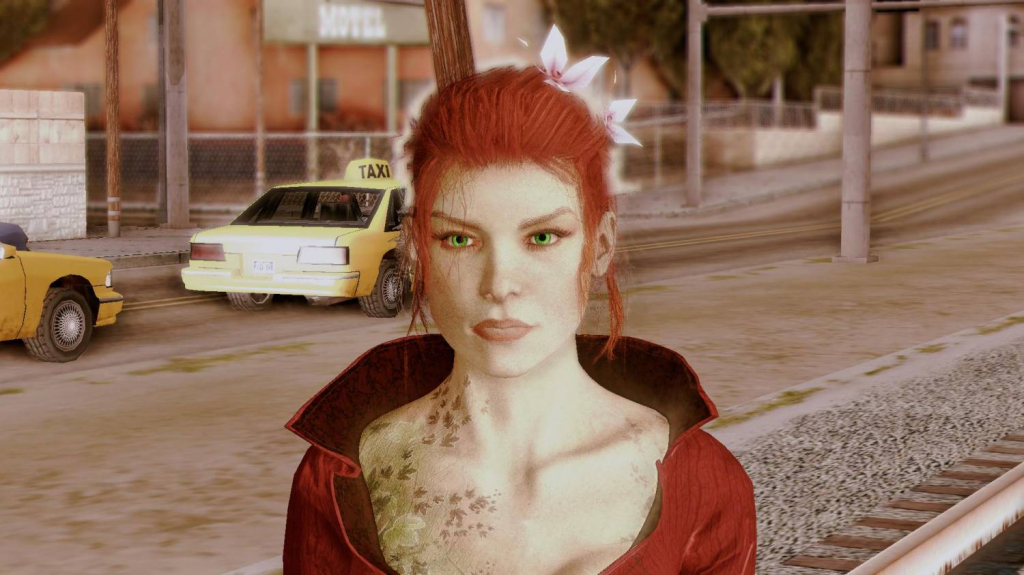 Poison Ivy for GTA SA 3