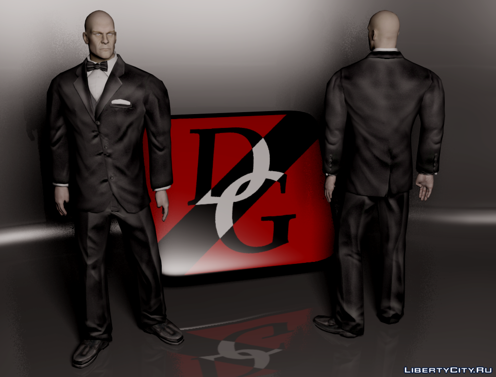 Lex Luthor Tuxedo for GTA SA 0
