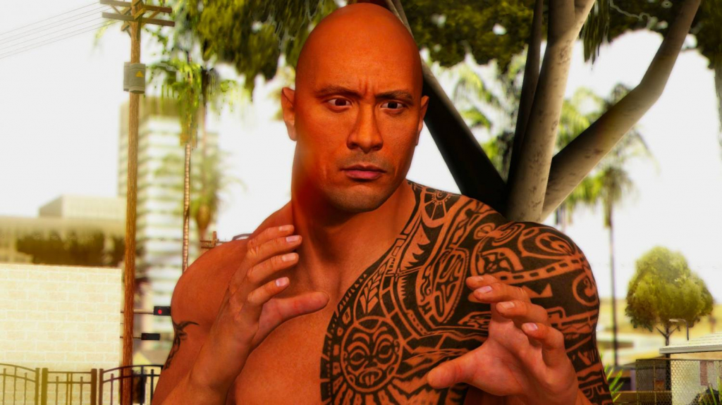 the rock gta 3