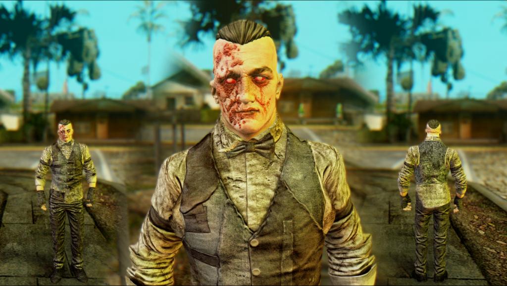 Outlast: skin-pack for GTA SA 6