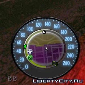 Speedometer for GTA SA 3