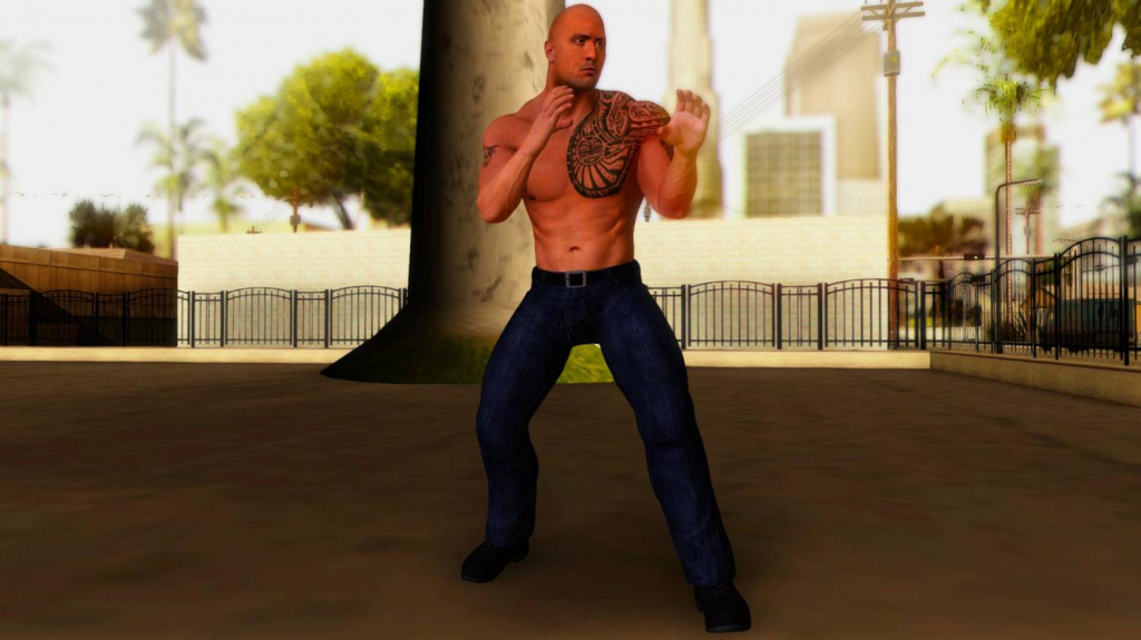 the rock gta 2