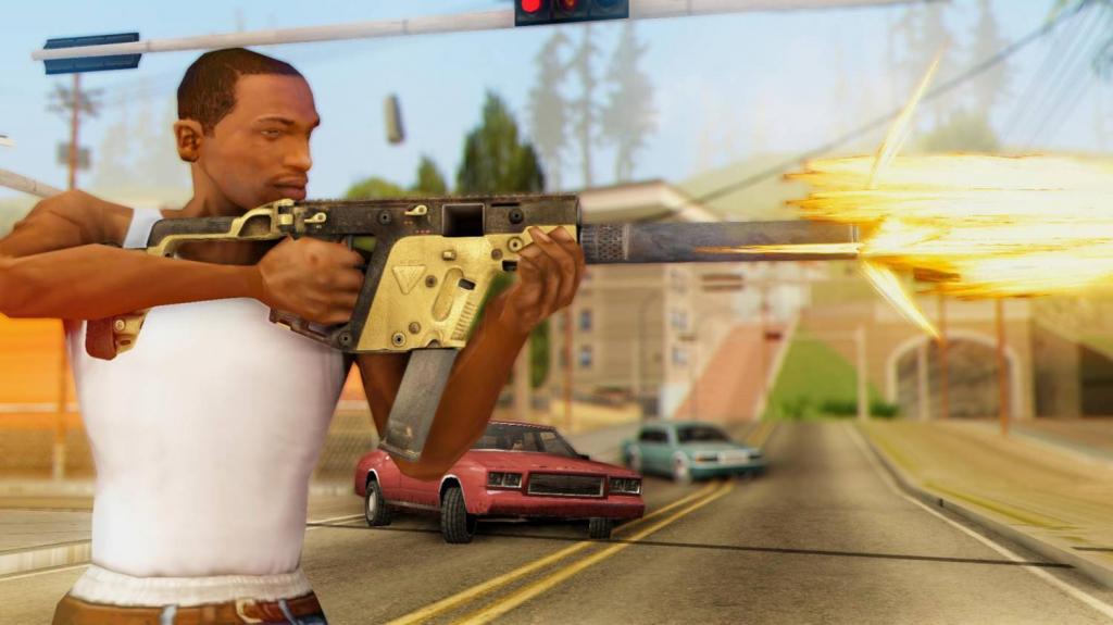 Kriss Vector for GTA SA 3