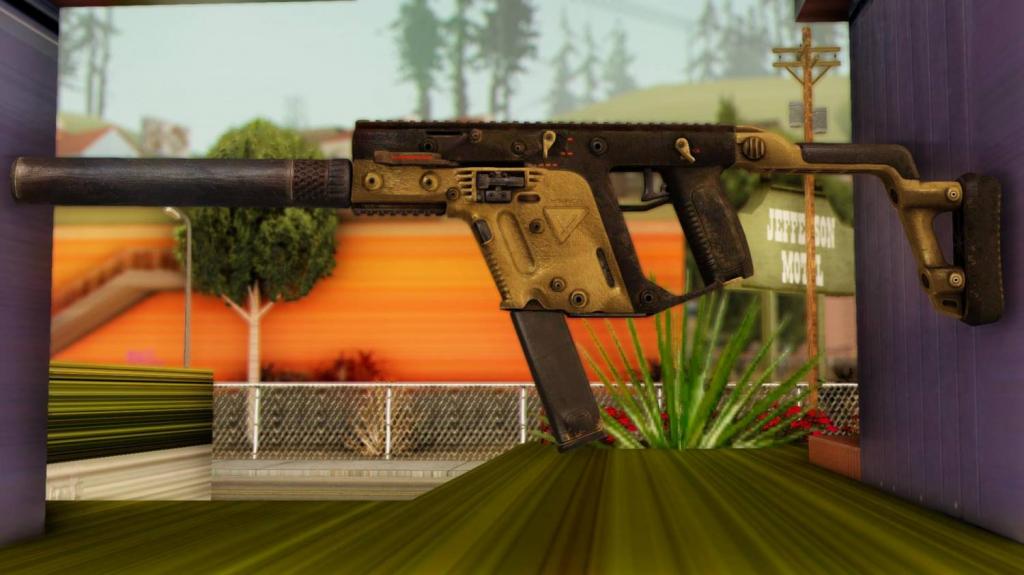 Kriss Vector for GTA SA 1