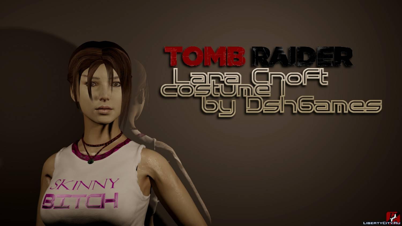 Lara Croft gta shirt 0