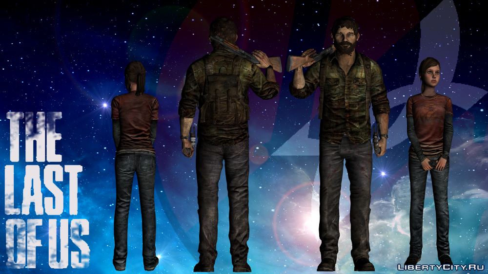 THE LAST OF US: different-pack gta 0