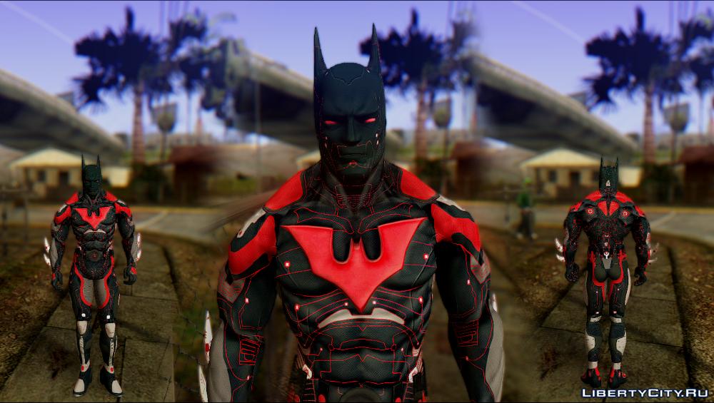 Batman Beyond for GTA SA 1