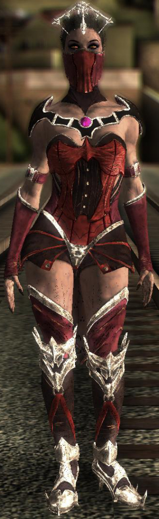 Mileena Vampiress for GTA SA 1