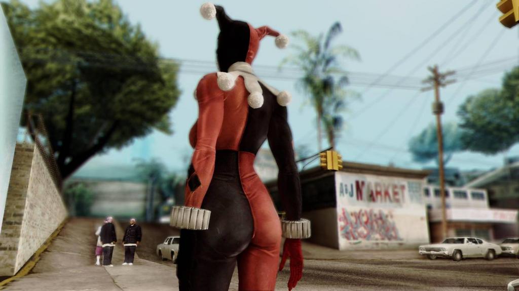 Harley Quinn Classic for GTA SA 1