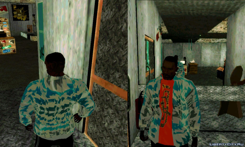 New jackets for gta 3