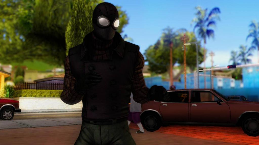 spider man noire gta 1