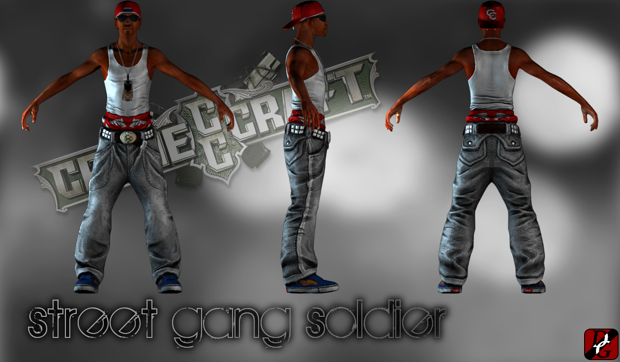 Street gang soldier CrimeCraft GTA 0