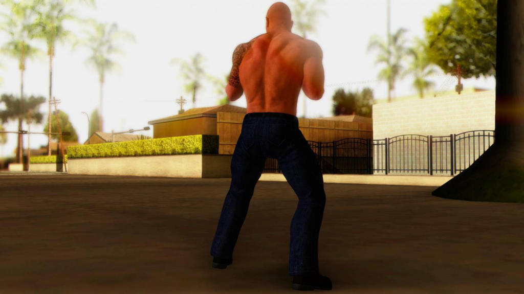 the rock gta 1
