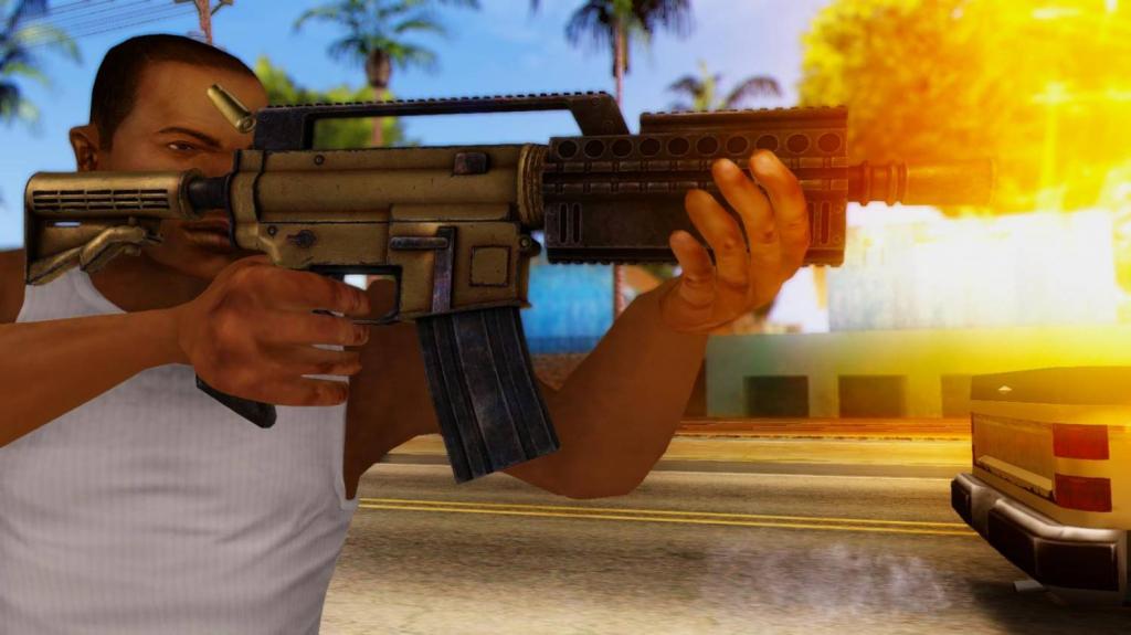 assault rifle gta 1