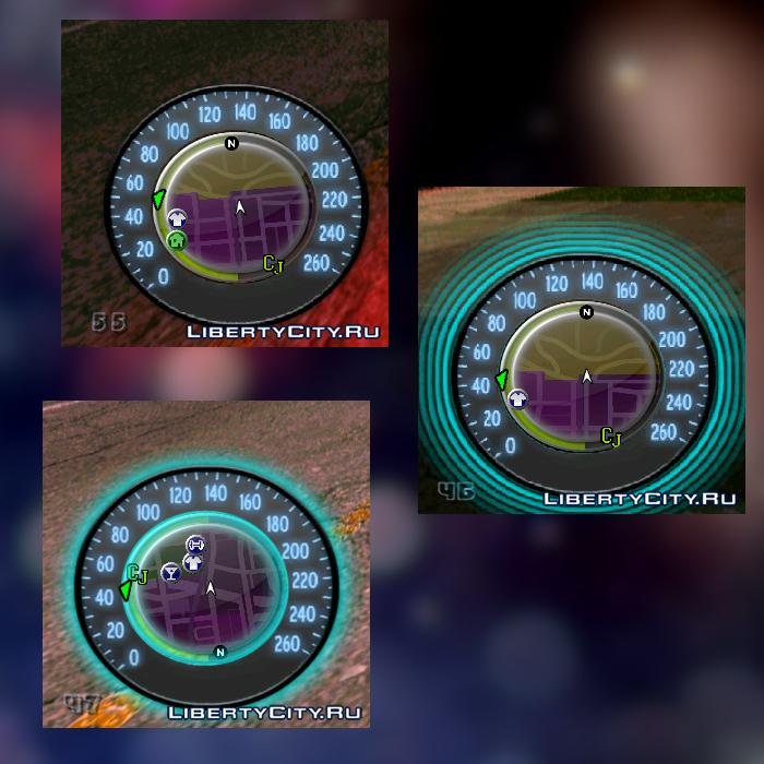 Speedometer for GTA SA 0