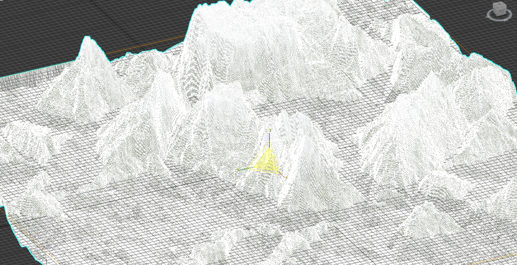 The mountains render 5