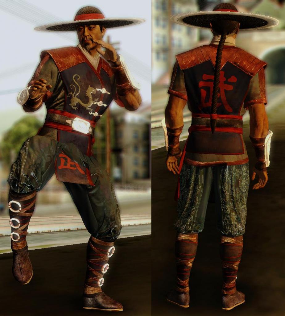 Kung Lao for GTA SA 1