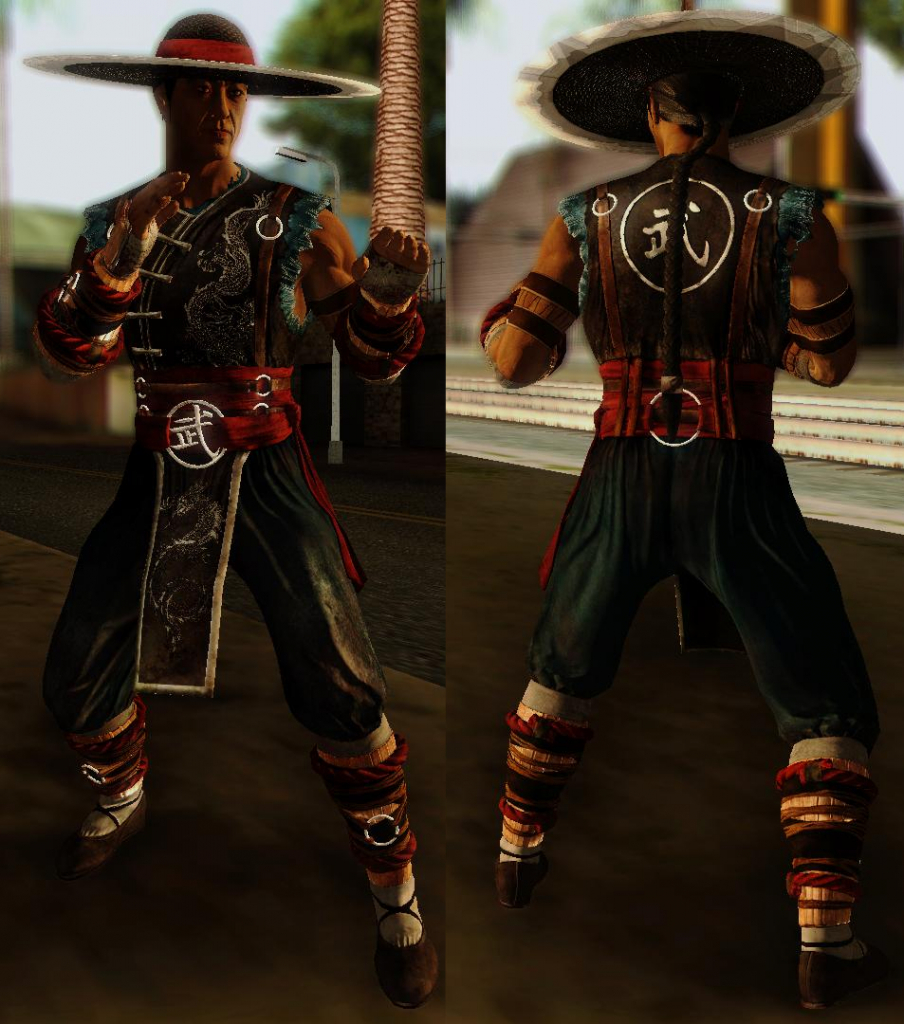 Kung Lao for GTA SA 2