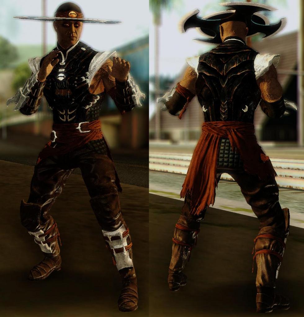 Kung Lao for GTA SA 3