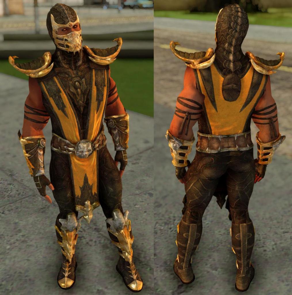 MK10 skin pack gta 10