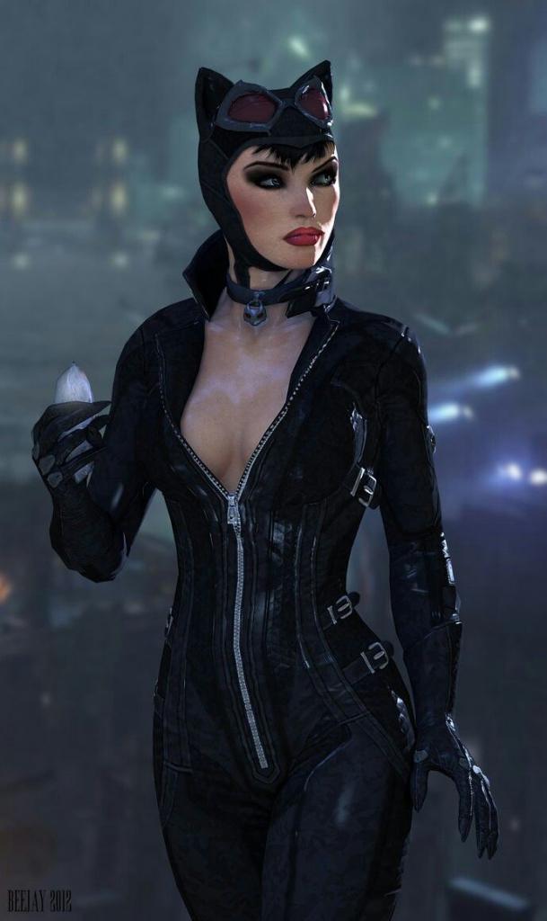 batman arkham city catwoman 4